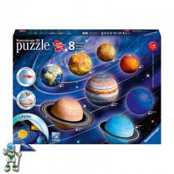 PUZZLE 3D SISTEMA PLANETARIO