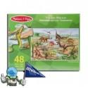 Puzzle Dinosaurios infantil (48 piezas)