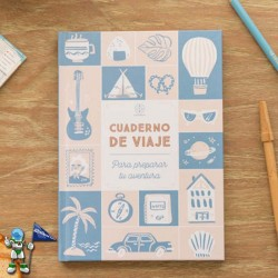 CUADERNO DE VIAJE LOVELY STREETS , MR WONDERFUL