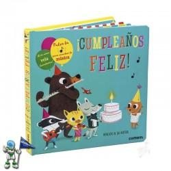 ¡CUMPLEAÑOS FELIZ! , CUENTO CON SONIDOS