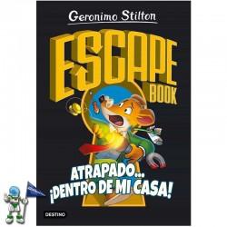 ESCAPE BOOK GERONIMO STILTON , ATRAPADO... ¡DENTRO DE MI CASA!