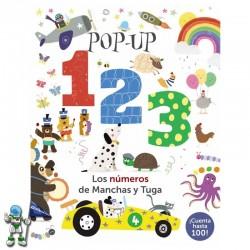 POP-UP 123 , LOS NÚMEROS DE MANCHAS Y TUGA
