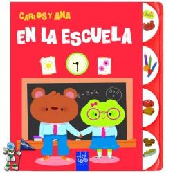 EN LA ESCUELA , CARLOS Y ANA