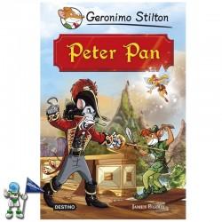 PETER PAN, GRANDES HISTORIAS, GERONIMO STILTON