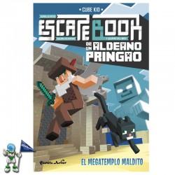 ESCAPE BOOK DE UN ALDEANO PRINGAO , EL MEGATEMPLO MALDITO
