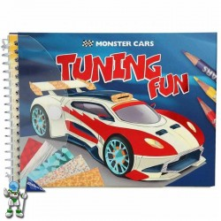 MONSTER CARS , TUNING FUN , MANUALIDADES COCHES