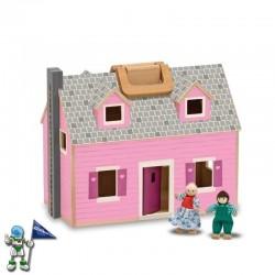 Casa de madera plegable...