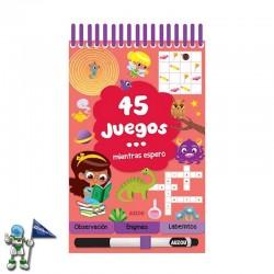 45 JUEGOS MIENTRAS ESPERO ,...