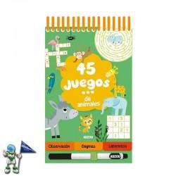 45 JUEGOS DE ANIMALES | PASATIEMPOS INFANTILES