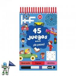 45 JUEGOS DE PASEO , PASATIEMPOS INFANTILES
