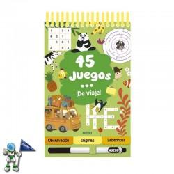 45 JUEGOS DE VIAJE |...