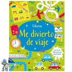 ME DIVIERTO DE VIAJE , PASATIEMPOS INFANTILES