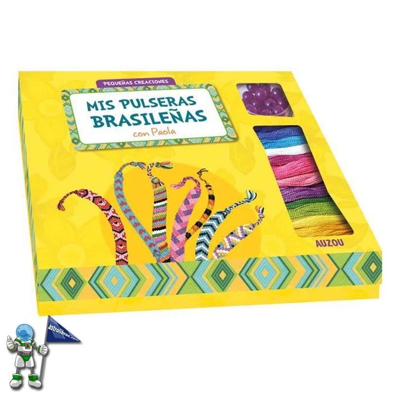MIS PULSERAS BRASILEÑAS CON PAOLA , PEQUEÑAS CREACIONES