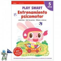 PLAY SMART , ENTRENAMIENTO PSICOMOTOR , ACTIVIDADES 5 AÑOS