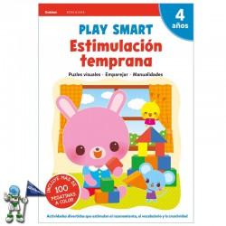 PLAY SMART , ESTIMULACIÓN TEMPRANA , 4 AÑOS