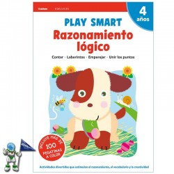 PLAY SMART , RAZONAMIENTO LÓGICO , 4 AÑOS