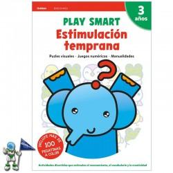 PLAY SMART , ESTIMULACIÓN TEMPRANA , 3 AÑOS