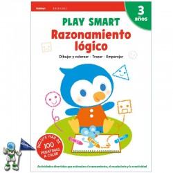 PLAY SMART , RAZONAMIENTO LÓGICO , 3 AÑOS