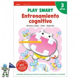 PLAY SMART ENTRENAMIENTO COGNITIVO 3 AÑOS