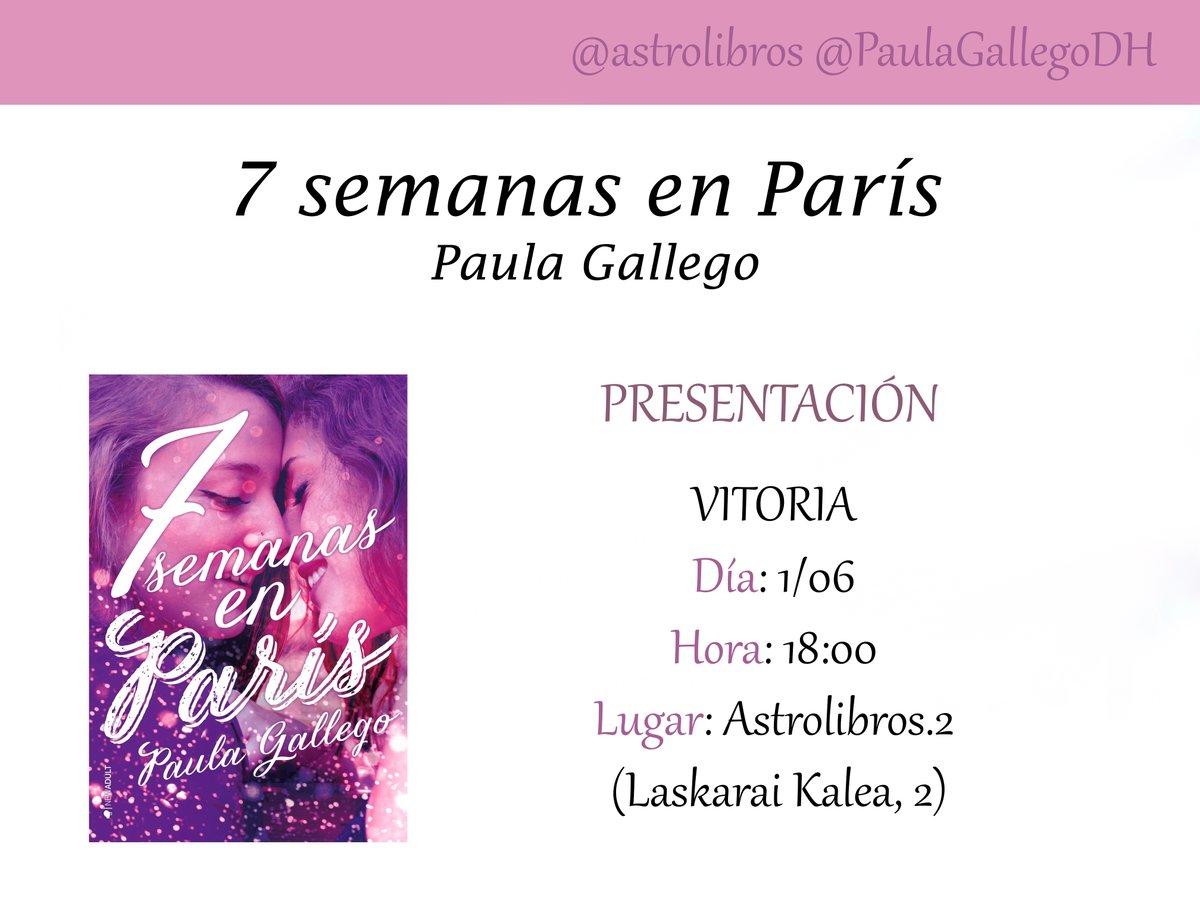 Firma Paula Gallego Astrolibros Vitoria